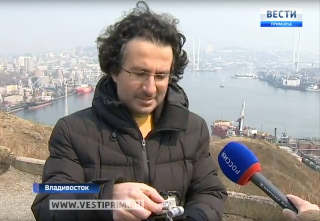 Marios Joannou Elia at Россия 1
