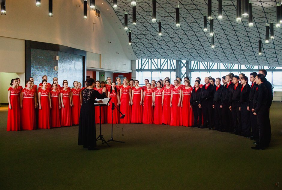 Marios Joannou Elia: Sound of Vladivostok, FEFU Academic Choir, Elena Petukhova (Photo: Полина Рыжая)