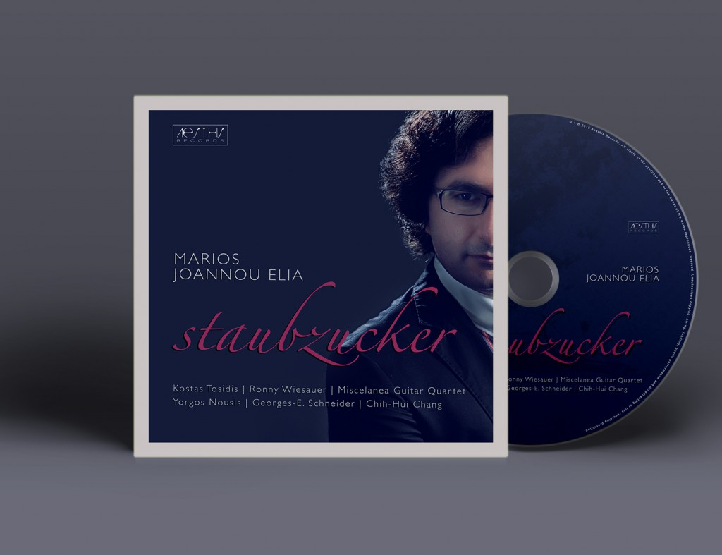 Marios Joannou Elia: Staubzucker - The Guitar Album, Aesthis Records, 2015