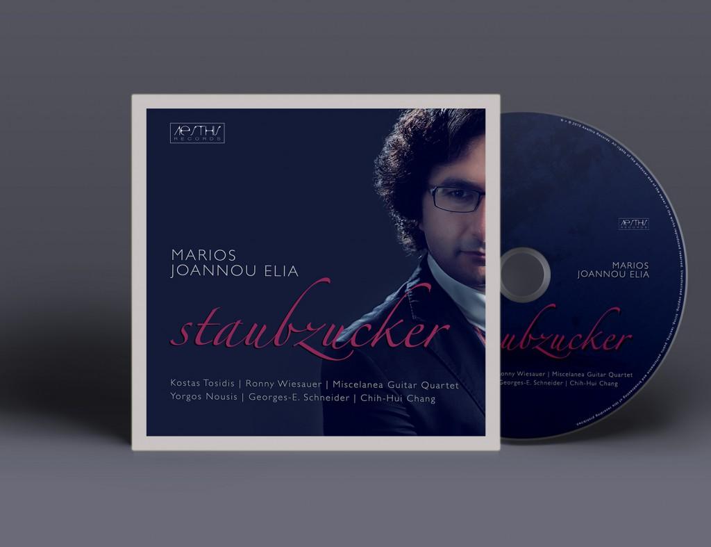 Marios Joannou Elia: Staubzucker - The Guitar Album, Aesthis Records, 2015