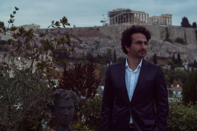 Marios Joannou Elia and Mikis Theodorakis  (Photo © Kostis Films)