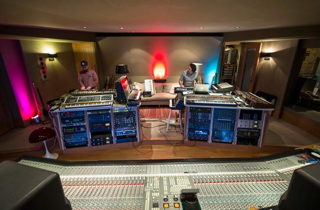Marios Joannou Elia & Nick Elia at Angelic Studios (Photo © Kostis Nikolas)