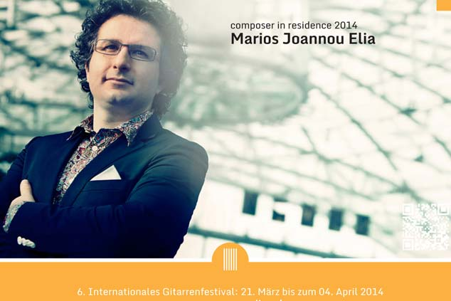 Marios Joannou Elia - Composer in Residence at Passaer Saiter Festival