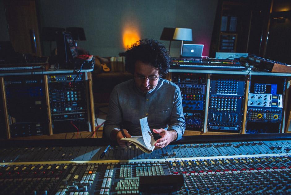 Marios Joannou Elia at Angelic Studios (Photo © Kostis Nikolas)