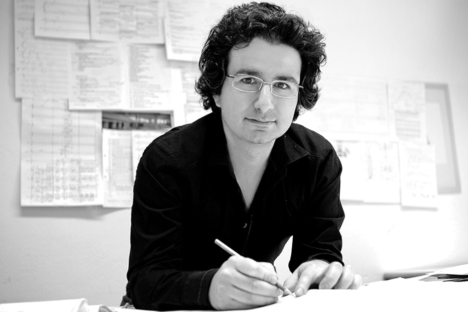 Marios Joannou Elia at his Salzburg Atelier, 2006 (Photo © Christian Reisigner)