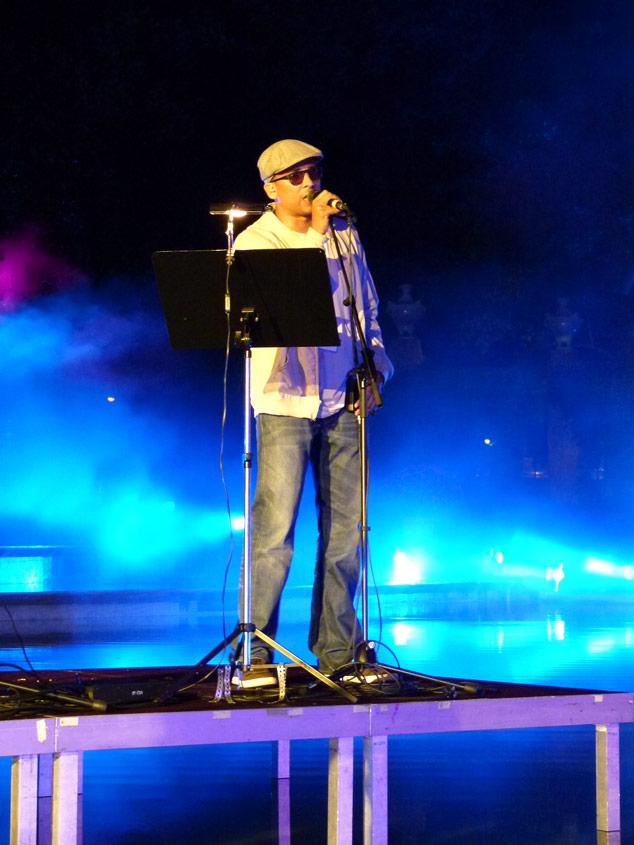 Xavier Naidoo sings DER TRAUM by Marios Joanou Elia, 2011 (Photo © m:con/Hamann)