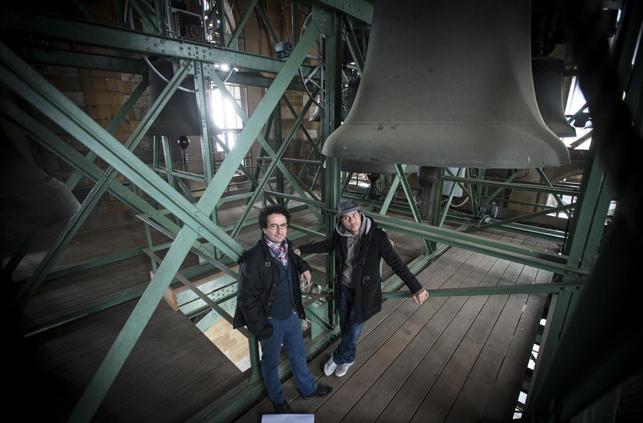Marios Joannou Elia & Joo Kraus (Photo © Südwest Presse 2014)