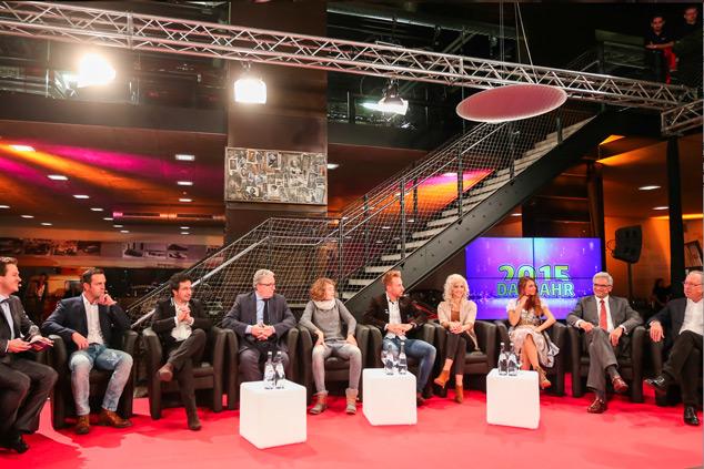 Marios Joannou Elia et al.: RegioTV Schwaben – Prominente des Jahres 2015 (Photo © Trendy)