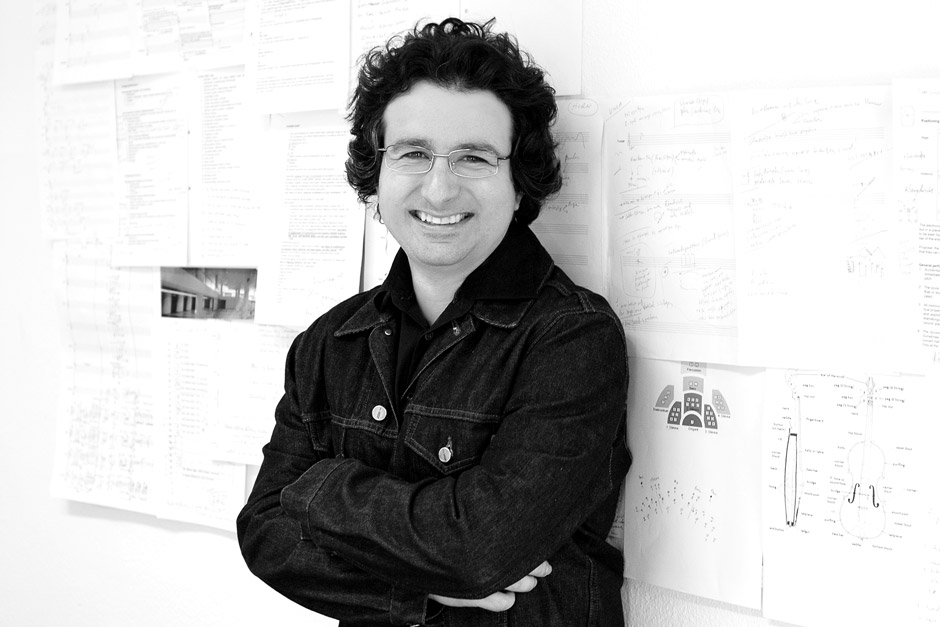 Marios Joannou Elia at his Salzburg Atelier, 2006 (Photo © Christian Reisigner)