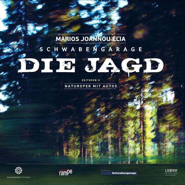 Marios Joannou Elia: DIE JAGD (CD, Staatsoper Stuttgart)