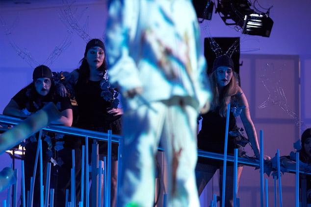 Marios Joannou Elia's DIE JAGD premiered by the Stuttgart State Opera and Theatre Rampe Stuttgart, 2008 (Photo © Martin Sigmund)
