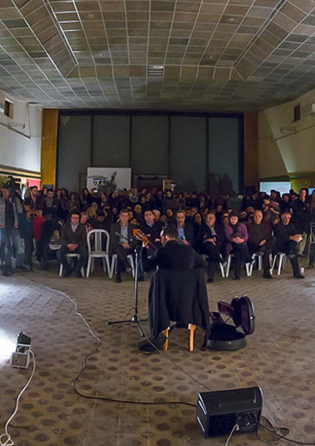 Othello-Rebirth Exhibition and Concert 2013 (Photo © Larkos)