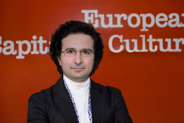 Marios Joannou Elia Artistic Director of the European Capital of Culture 2017 (Photo © Kostisfilms, London)