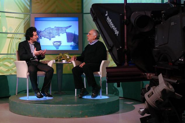 Marios Joannou Elia at CyBC1, 2012