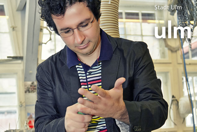 Komponist Marios Joannou Elia im Gespräch (Stadt Ulm)