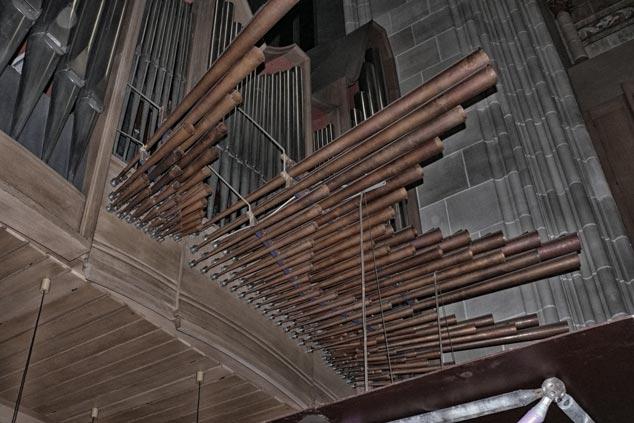 Marios Joannou Elia - Ulmer Oratorium, organ trumpets