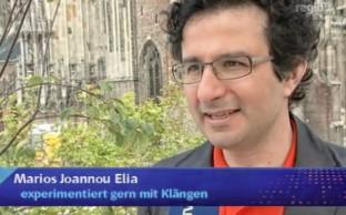 Marios Joannou Elia - Interview at RegioTV
