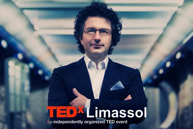 Marios-Joannou-Elia-TEDx Limassol (Photo © Aris Akritidis)