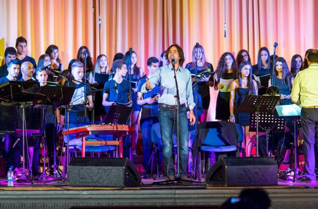 Marios Joannou Elia, Pafos2017, Vasilis Lekkas and Students of the Music Lyceum Pafos (Photo © Larkos)