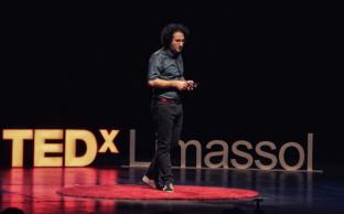 Marios Joannou Elia at TEDx Limassol