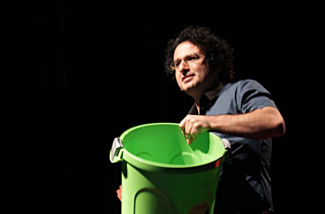 Marios Joannou Elia at TEDx Limassol (Photo © Nearchos Christofides)