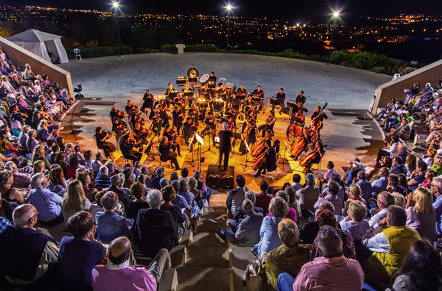 Marios Joannou Elia, Pafos2017 and the Cyprus Symphony Orchestra Open Air (Photo © Larkos)