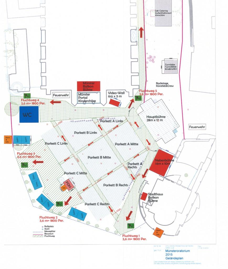 Marios Joannou Elia: Ulmer Oratorium: Minster Square General Positioning Plan (Image © Stadt Ulm)