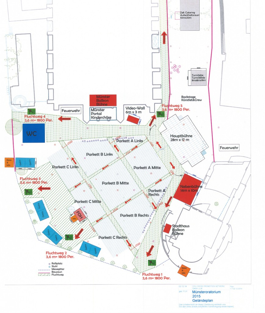 Marios Joannou Elia: Ulmer Oratorium: Minster Square General Positioning Plan (Image © Marcus Thiel)