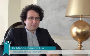 Marios Joannou Elia: Ambassador in Tourism (Photo © Cyprus Tourism Organisation, 2015)