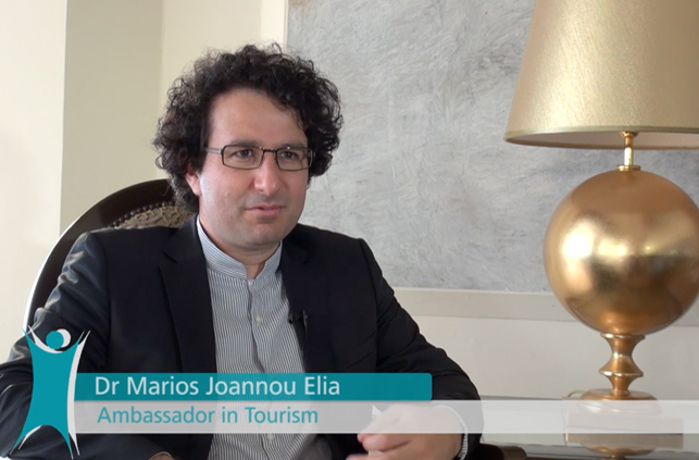 Marios Joannou Elia: Ambassador in Tourism (Photo © Cyprus Tourism Organisation, 2015)