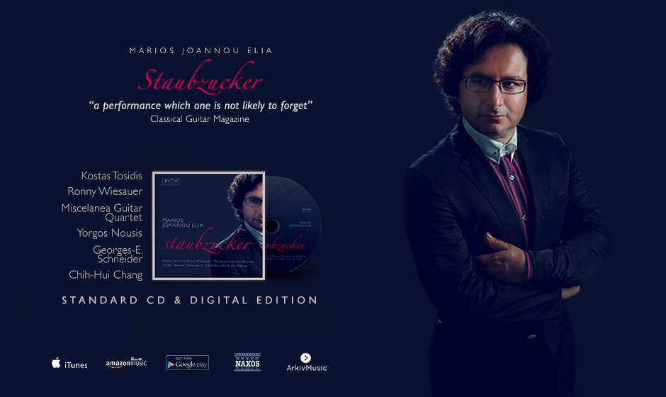 Marios Joannou Elia - New Album available at iTunes, amazon, Google Play, Naxos, Arkiv Music, etc.
