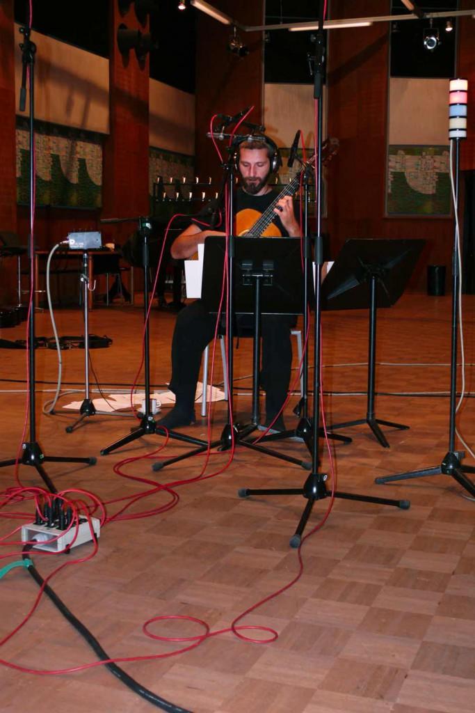 Marios Joannou Elia and Kostas Tosidis at ORF Studio Vienna