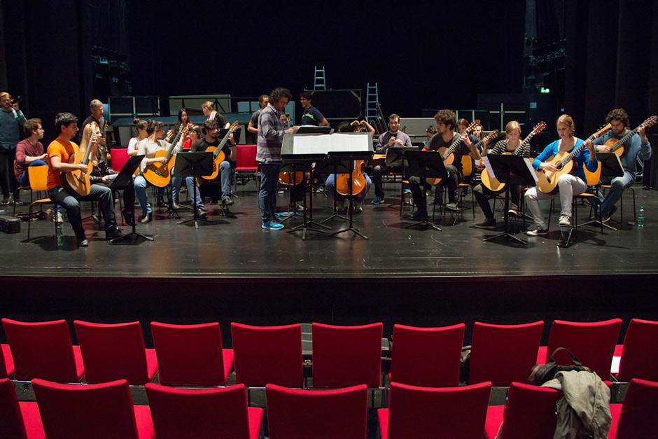 Marios Joannou Elia rehearsal of