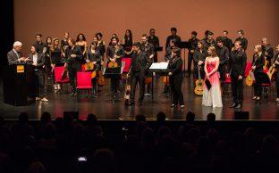 Mozarteum: Vice-Rector's Speech on Marios Joannou Elia (Photo © Fivos Salahas and SensoReye Production)