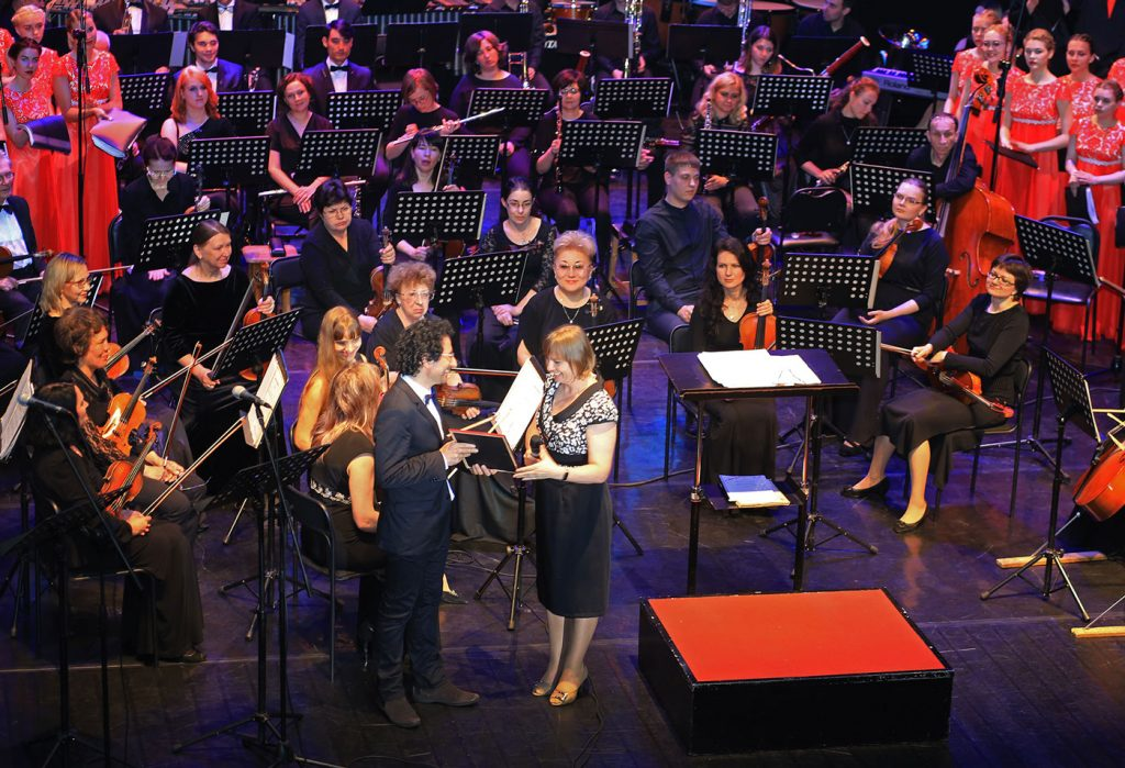 VARYAG by Marios Joannou Elia, Primorye Philharmonic, Mariinsky Theatre (Photo: Tatiana Khodova)