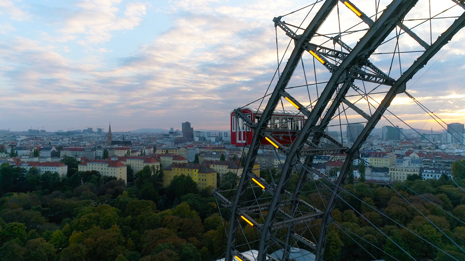 TELENTAUTEN by Marios Joannou Elia at Vienna's Giant Wheel
